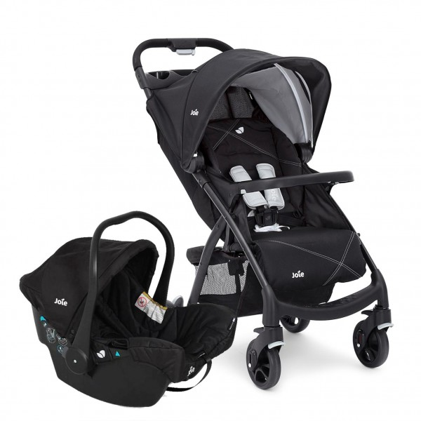 Joie Muze Travel System in Universal Black