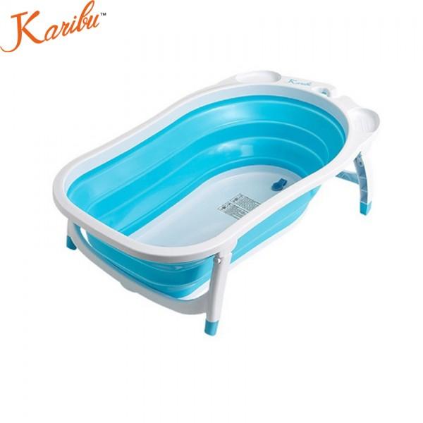 Karibu Baby Folding Baby Bath - Blue