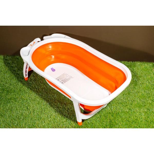 Karibu Baby Folding Baby Bath - Orange