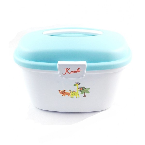 Karibu Bathroom Set - Blue