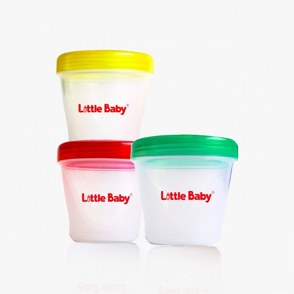 Little Baby Multifunction Container 3x160ml