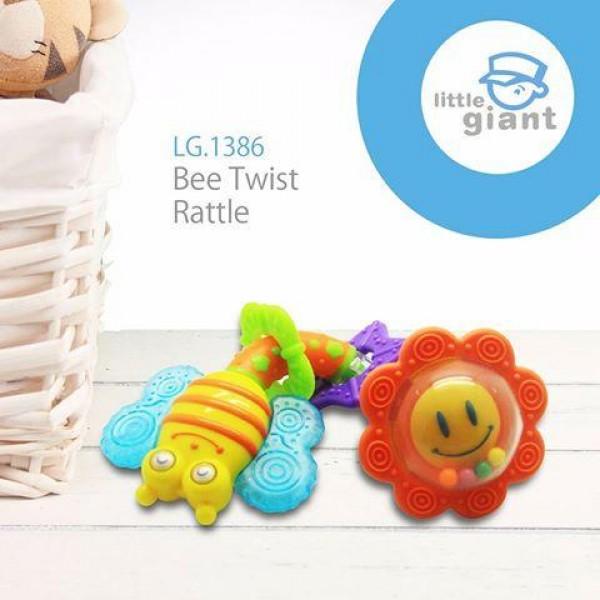 Little Giant Bee Twist Rattle