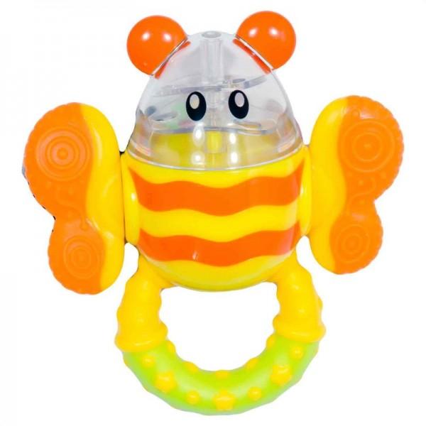 Little Giant Twist Eggie Bee Rattle