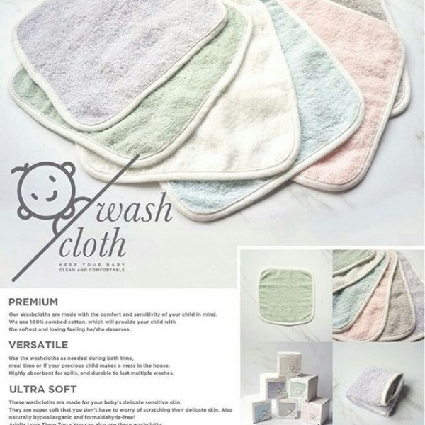 Little Palmerhaus Wash Cloth