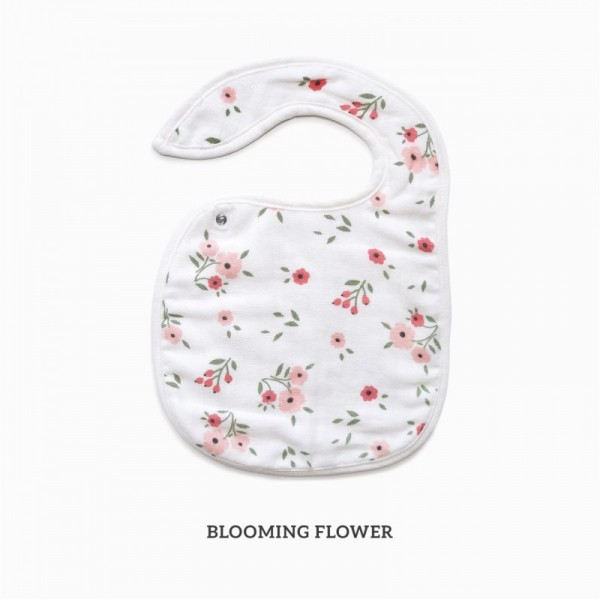 Little Palmerhaus Snappy Bib - Blooming Flower