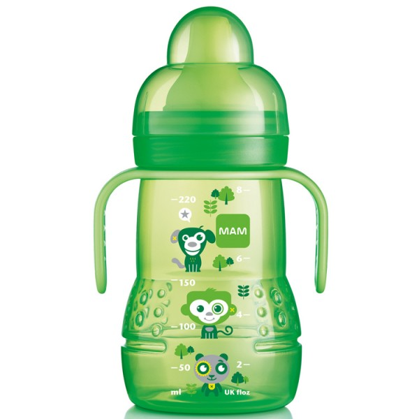 Mam Trainer Bottle 220ml Green 4m+