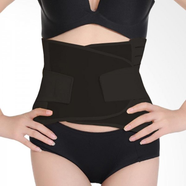 Mooimom Adjustable Elastic Recovery Corset - Black