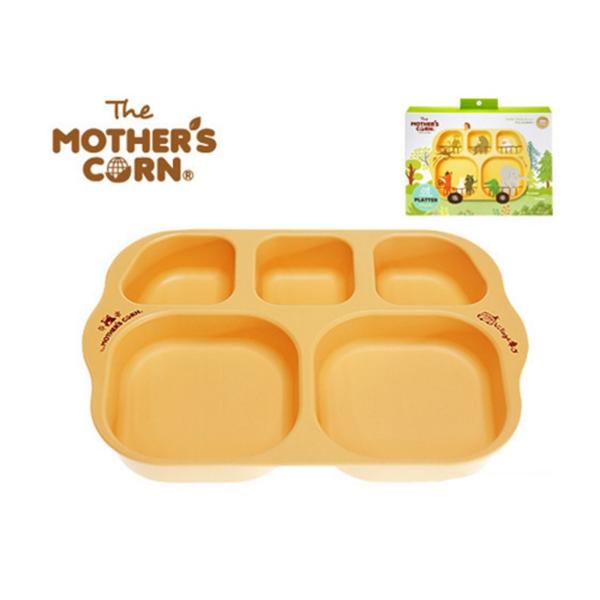 Mother's Corn School Bus Platter