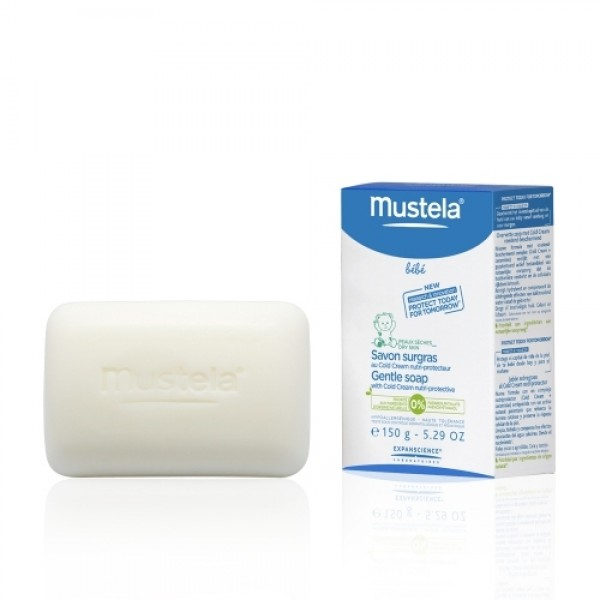 Mustela Bebe Gentle Soap With Cold Cream - 150 Gr