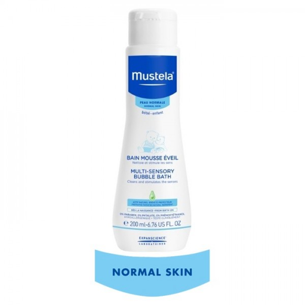 Mustela Multi-Sensory Bubble Bath 200ml