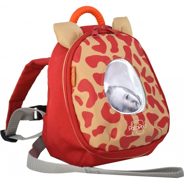 Pacapod Changer Toy Pod Leopard Red