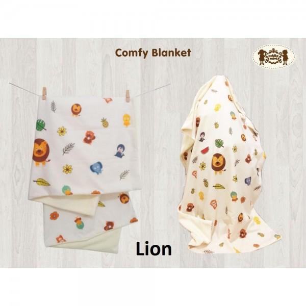 Petite Mimi Premium Comfy Blanket Motif Lion