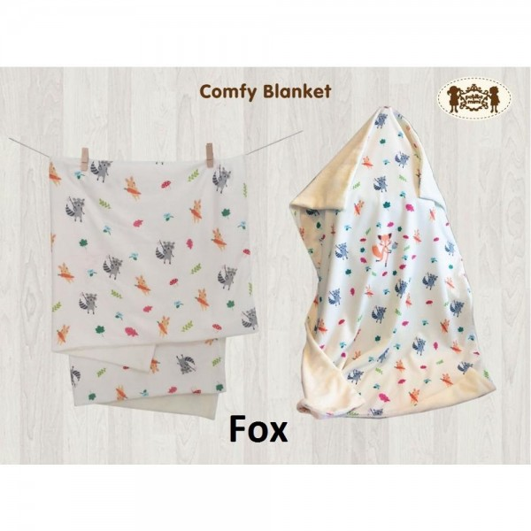 Petite Mimi Premium Comfy Blanket Motif Fox