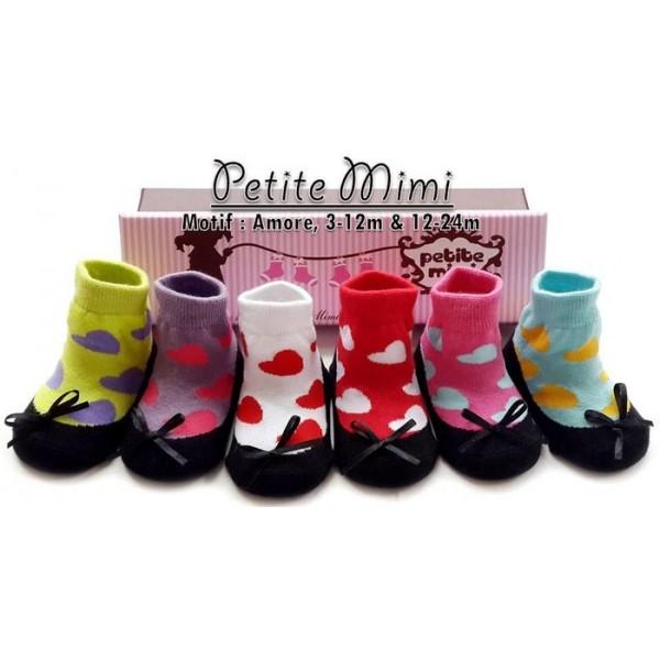 Petite Mimi Baby Socks Amore