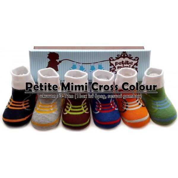 Petite Mimi Baby Socks Cross