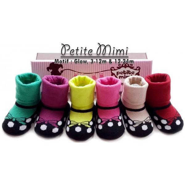 Petite Mimi Baby Socks Glow