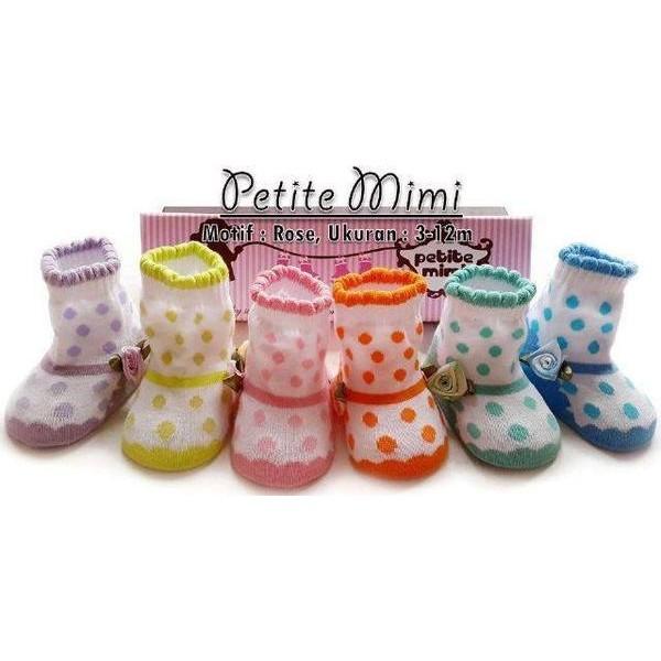 Petite Mimi Baby Socks Rose