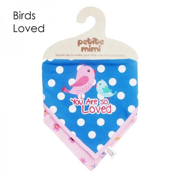 Petite Mimi Slaber Segitiga Motif Birds Loved