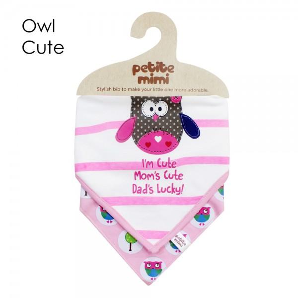 Petite Mimi Slaber Segitiga Motif Owl Cute