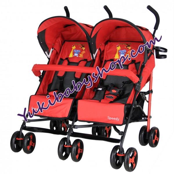 Pliko Speedy Twin Red