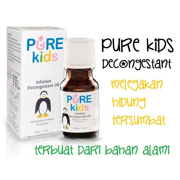 Pure Kids Inhalant Decongestant Oil