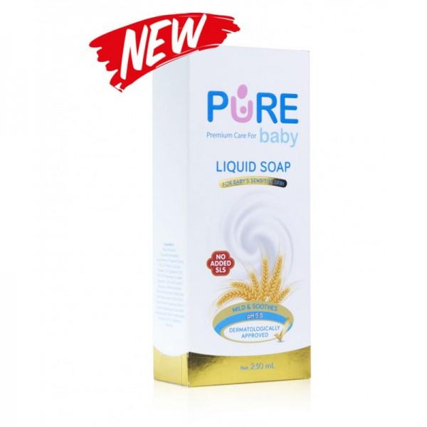 Purebaby Liquid Soap For Baby Sensitive Skin 230ml