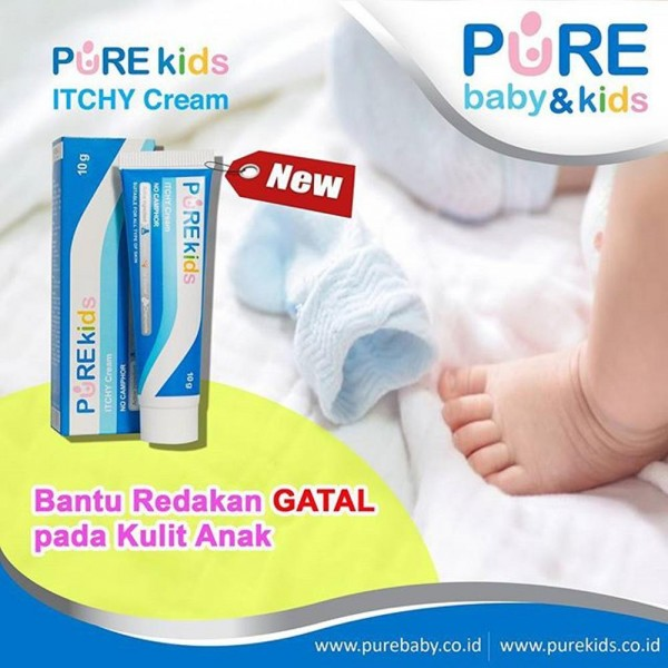 Pure Kids ITCHY Cream 10gr