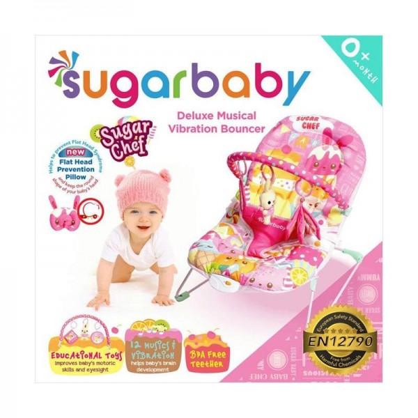 Sugar Baby Deluxe Musical Vibration Bouncer - Sugar Chef