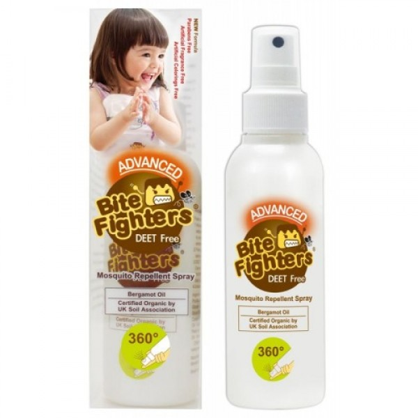 Us Baby Bite Fighters Mosquito Repellent Spray 120ml