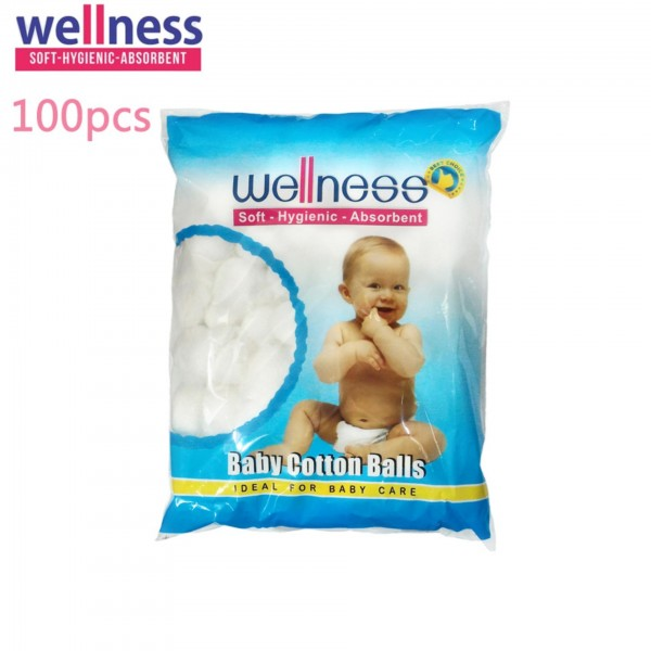Wellnes Baby Cotton Balls