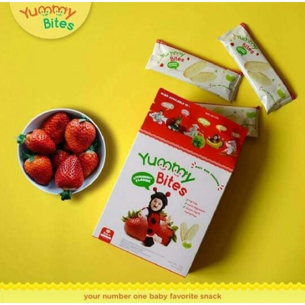 Yummy Bites Strawberry Flavour