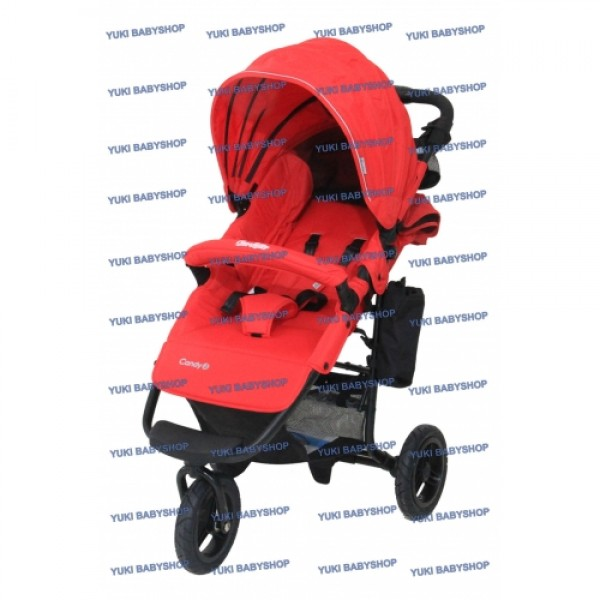 Cocolatte 975 Airbuggy Candy J Red