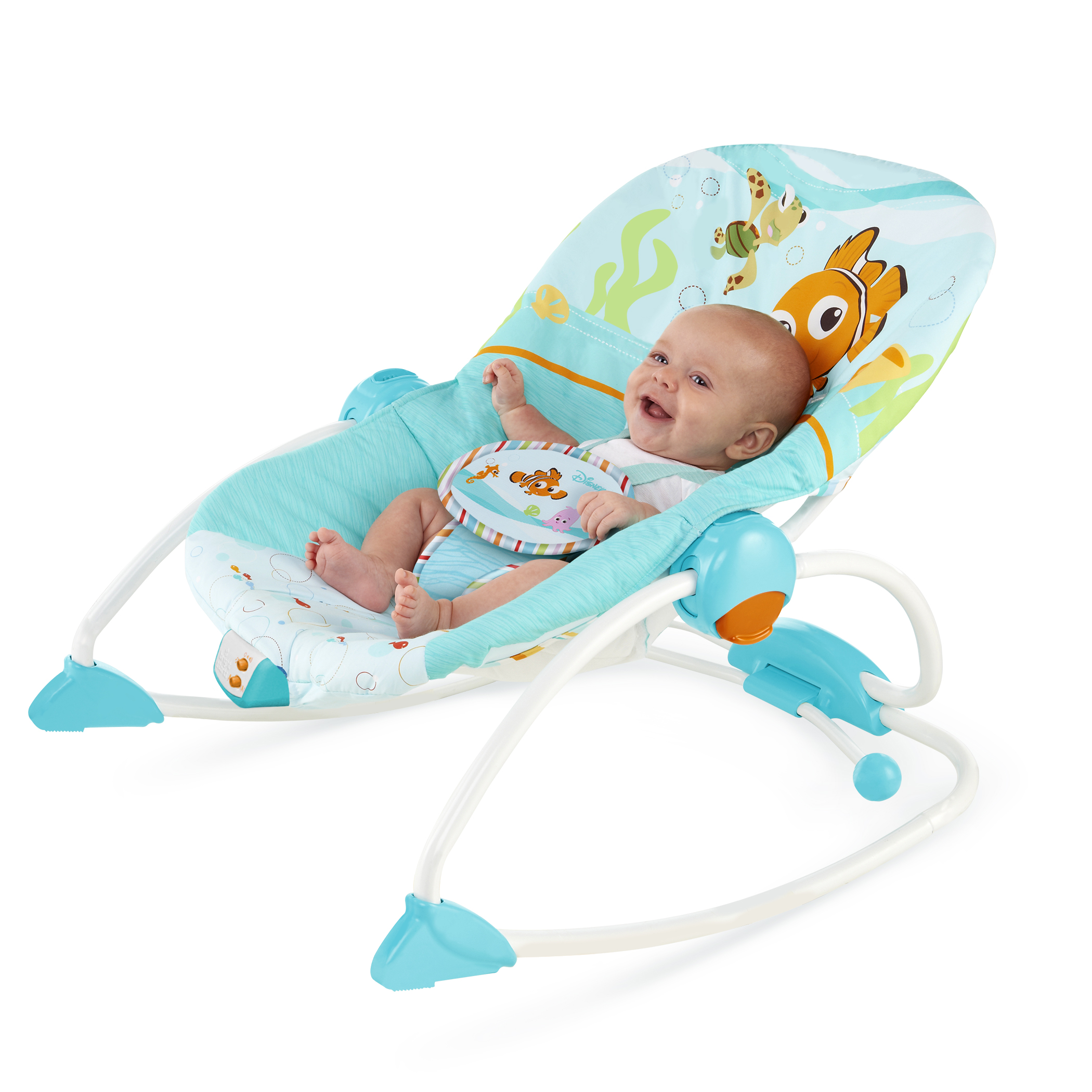 0da048fd253 Disney Finding Nemo Fins & Friends Infant to Toddler Rocker - Yuki ...